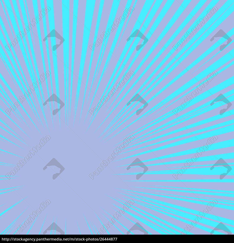 blue, rays, pop, art, background - 26444877