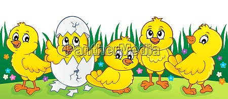 cute chickens topic image 2