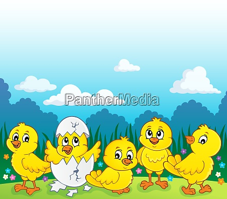 cute chickens topic image 3