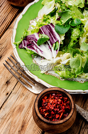 healthy vegetarian salad