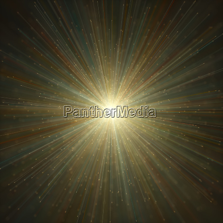 big bang abstract background colorful light