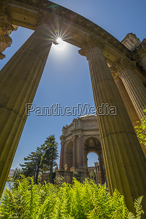 view of palace of fine arts