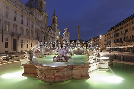 fontana del moro fountain fontana dei