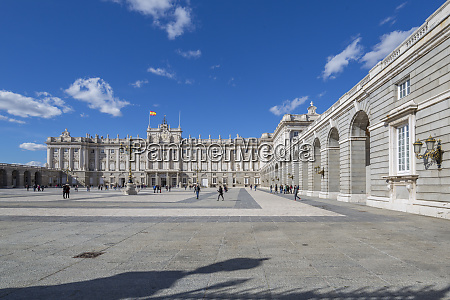 view of royal palace on bright