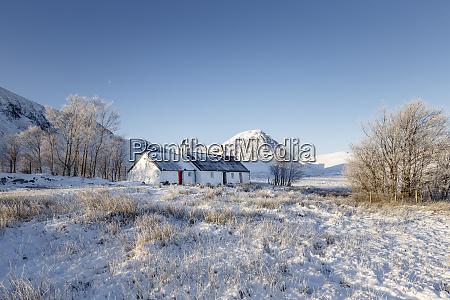 a winter scene at black rock