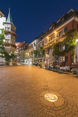square in the upper town at