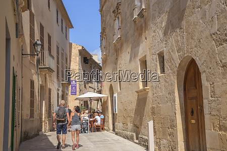streets in alcudia alcudia mallorca majorca