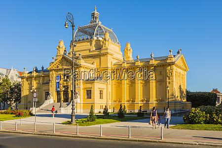 kunstpavillon zagreb kroatien europa