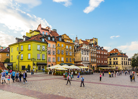 buildings in plac zamkowy castle square