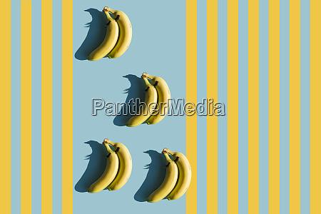 3d rendering bananas with fake eyelashes