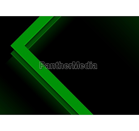 abstract background with green geometric elements