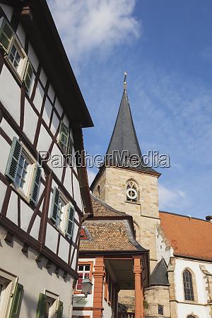 germany rhineland palatinate freinsheim church and