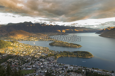 new zealand south island queenstown and