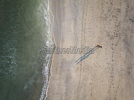 indonesia bali aerial view of kuta