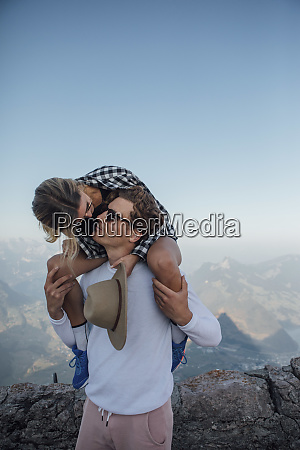 switzerland grosser mythen young man kissing