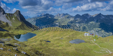 germany bavaria allgaeu allgaeu alps lake