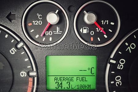 auto hoher kraftstoffverbrauch