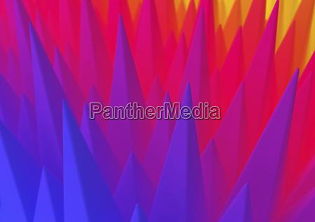 abstraktes spike muster im farbverlauf