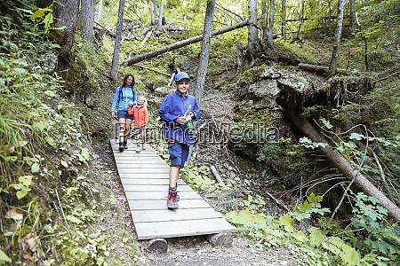 austria south tyrol family hiking