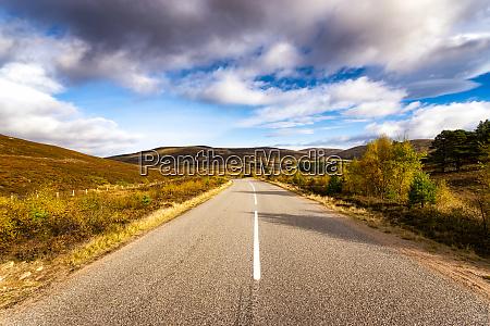 great britain scotland highlands road