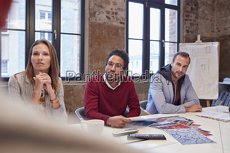 business people at a strategy meeting