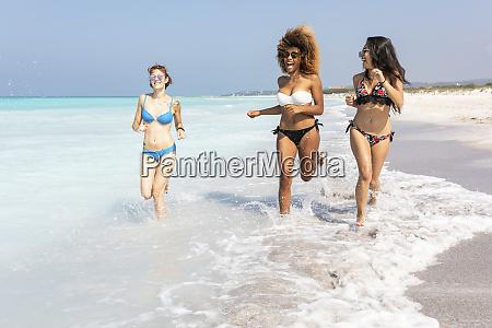 girl friends having fun on the