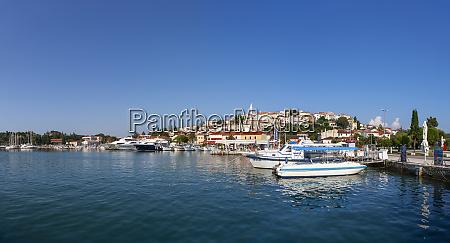 croatia istria vrsar harbour