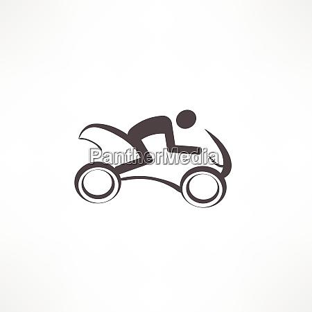 motorradfahrersymbol