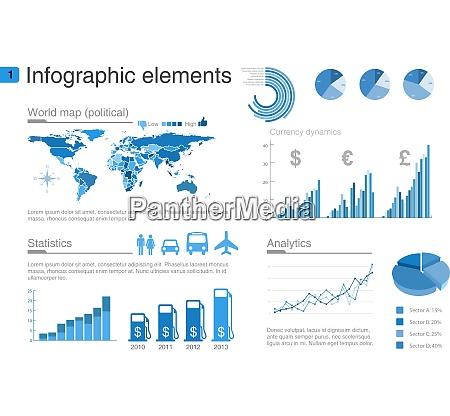 infographics design vorlage grafik diagramm diagramme