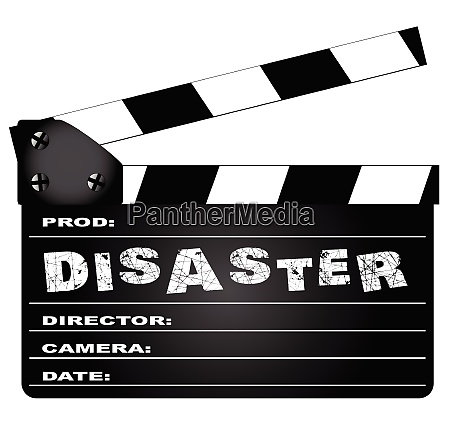 katastrophenmovie clapperboard