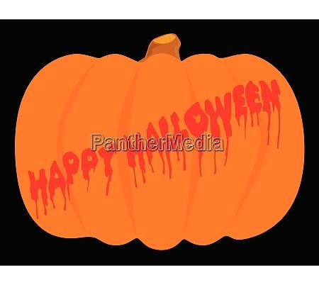totaly evil halloween kuerbis