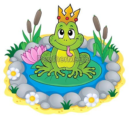 frosch mit krone thema bild 3