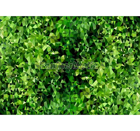 polygonal background texture green foliage