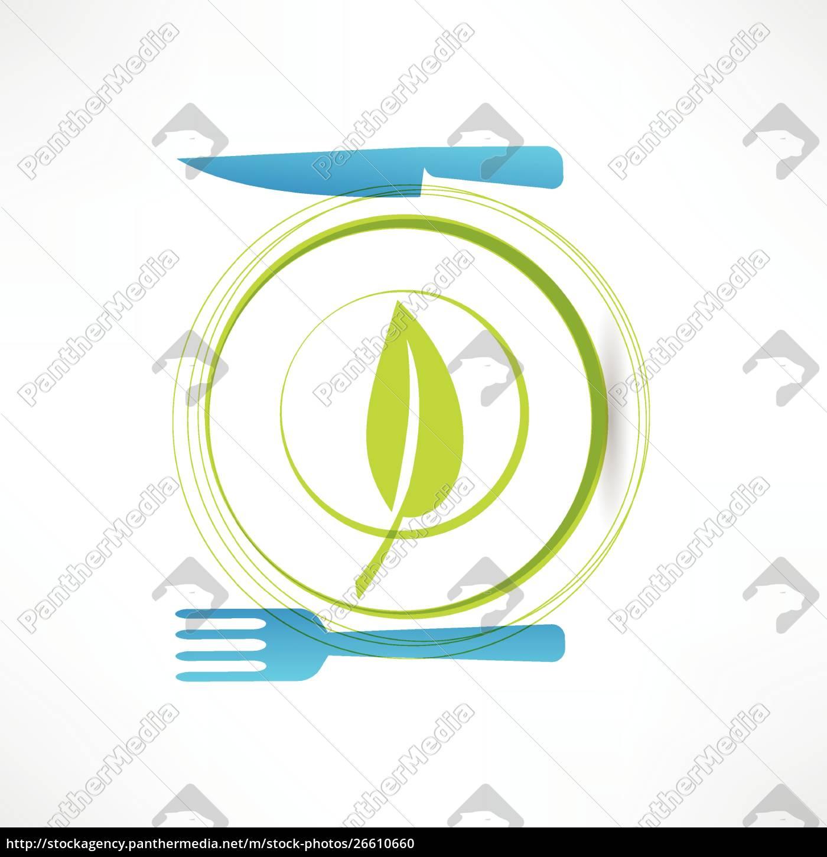 gesundes, leben, symbol - 26610660