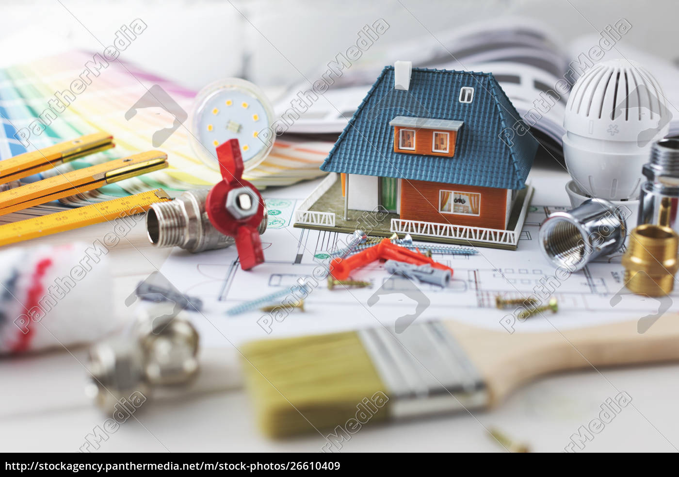 house, building, and, repair, concept, - - 26610409