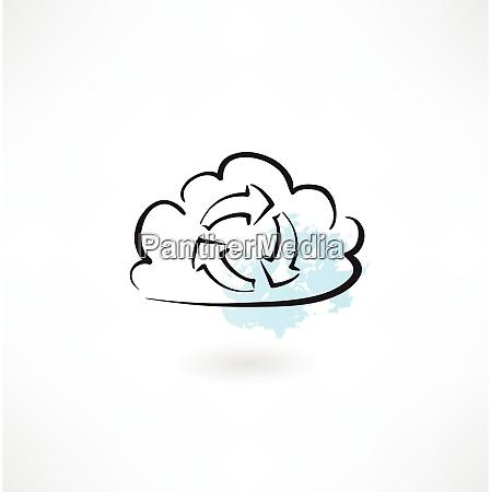 cloud zyklus symbol