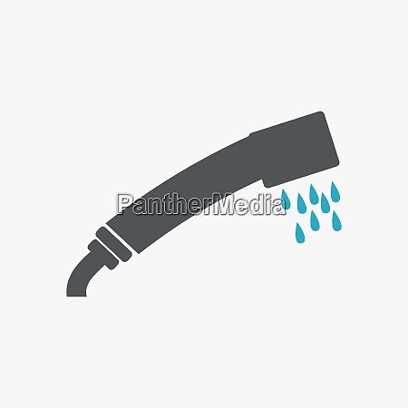 duschspray symbol