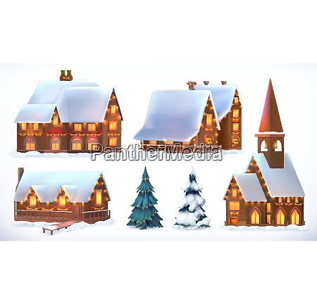 christmas cottages country houses festive christmas