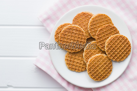 sweet waffle biscuits