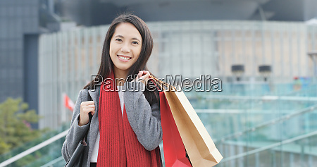 young woman use of mobile phone