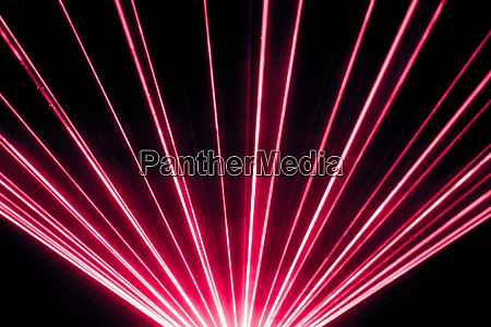 rote lasershow nightlife club buehne und