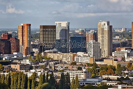 rotterdam panoramic view