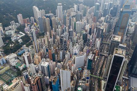 causeway bay hong kong 22 february