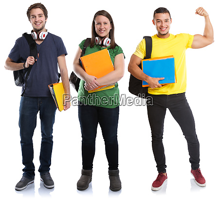 students young success successful strong power