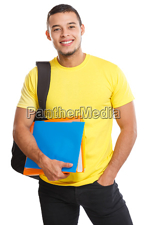 student young man portrait smiling people