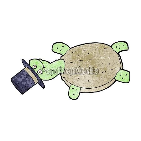 cartoon turtle in top hat