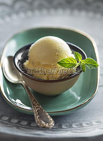 ice cream vanilla