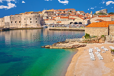 historic town of dubrovnik and banje