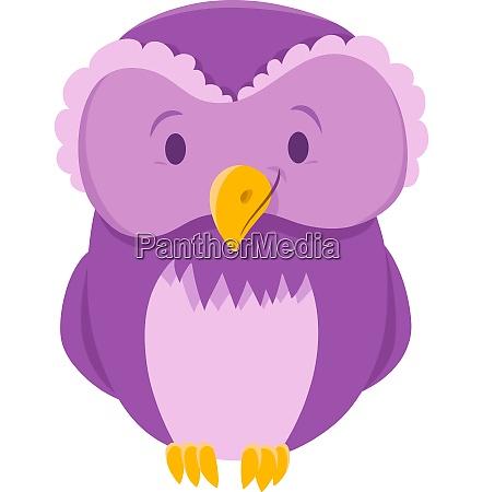 owl bird animal cartoon character