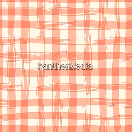 vector seamless pattern with square hand